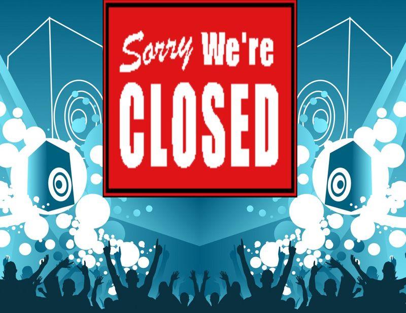 Concert Closed